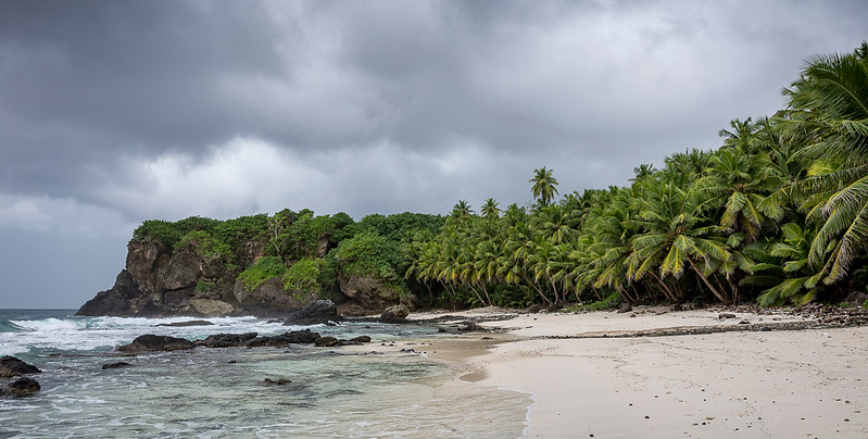Dolly Beach, Christmas Island.