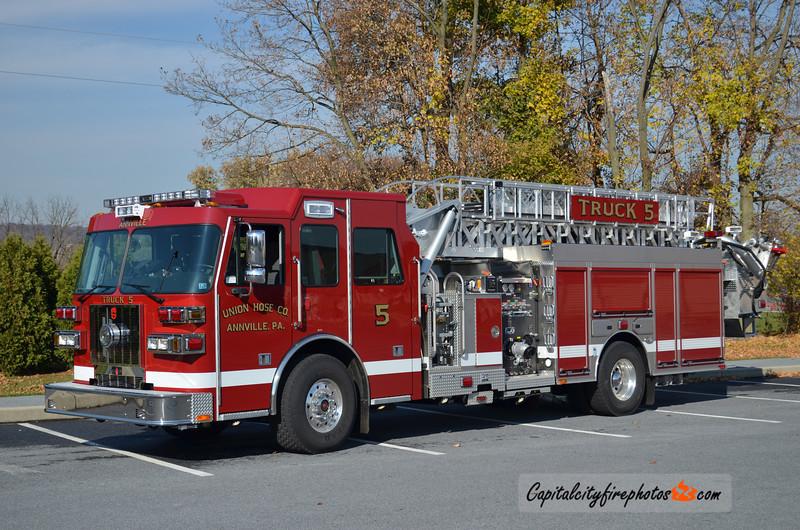 Union Hose Co. (Annville Borough) Truck 5: 2013 Sutphen 1500/500 70'