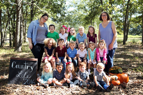 Country Life Montessori Fall 2016