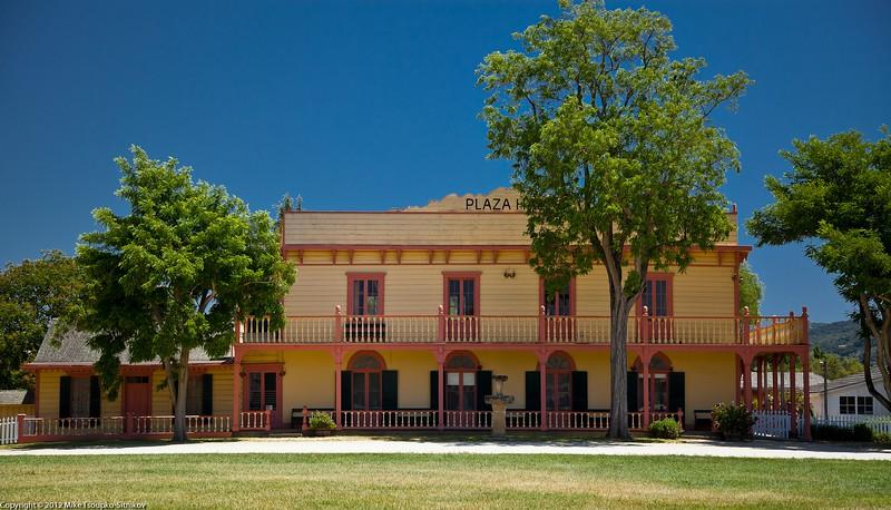 Plaza Hall, San Juan Bautista