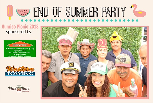 Sunrise Management End of Summer Party 2018