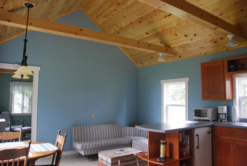 Woods Cabin Living Area - 1