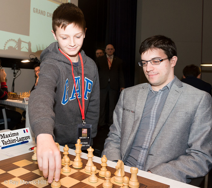 Maxime gets some assistance at the start of Round 8
