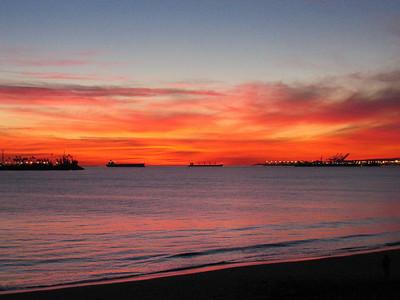 2006_02 Long Beach Sunsets