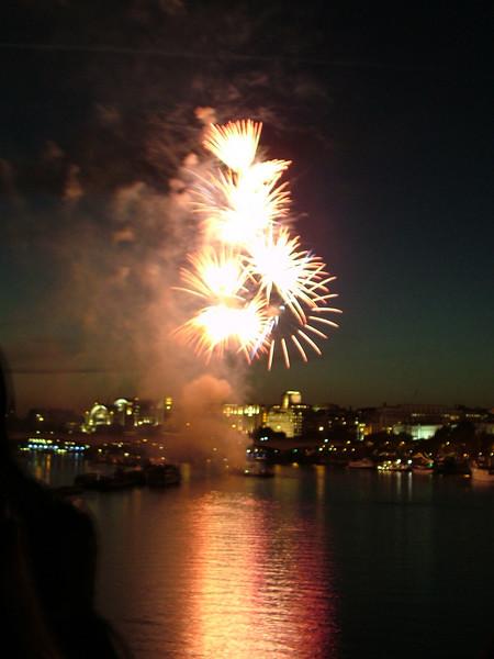 Lord Mayor's Show Fireworks, London