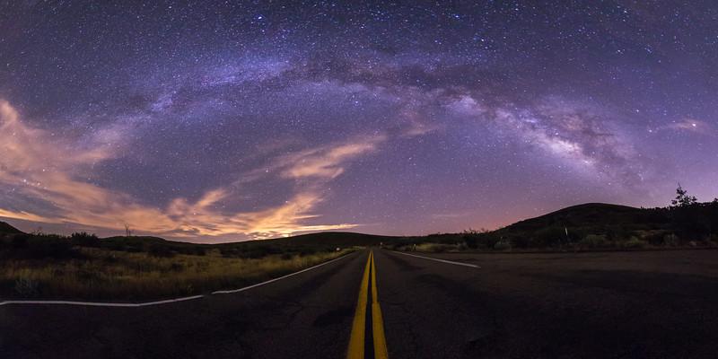 Milky Way over Sunrise Highway