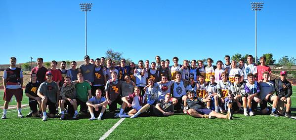 Alumni Game, post game 12-23-14