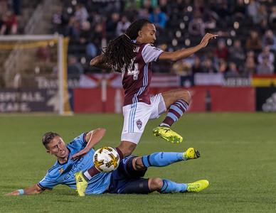 Colorado Rapids vs NYC FC - MLS Soccer - 2017-09-16