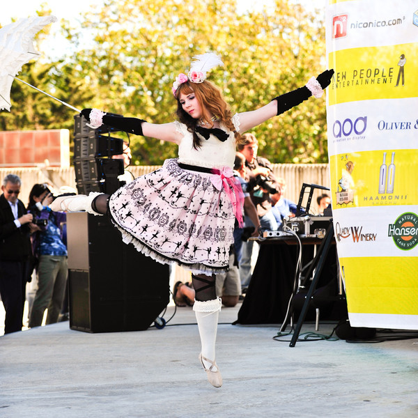 BABY, THE STARS SHINE BRIGHT Fashion Show on the Pagoda Stage at the 2011 J-POP Summit Festival