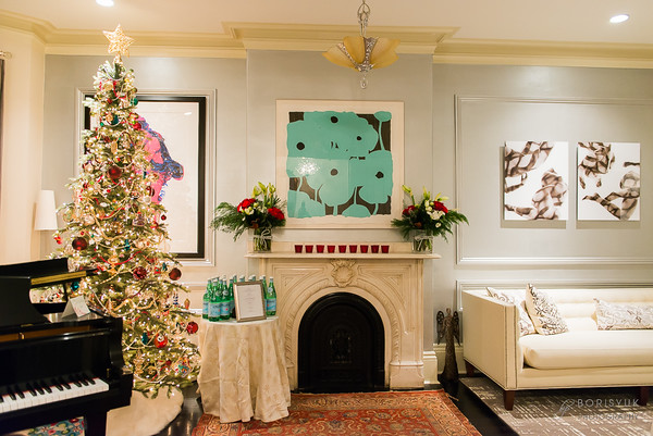 Boston Christmas Cocktail Party: Private Residence