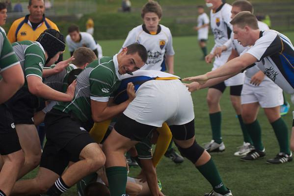 Cavaliers vs De La Salle Rugby 02/08/14