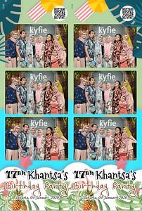 200104 | Khantsa's Sweet 17 Birthday Party