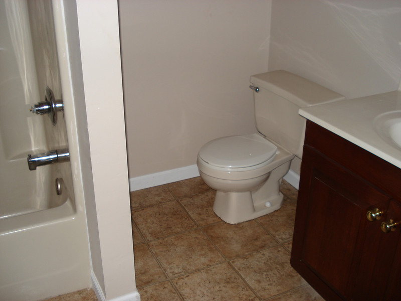 Completed bathroom. ck