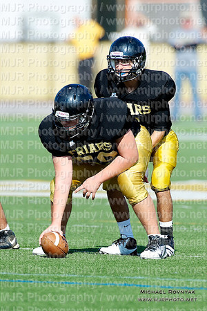 Football, HS Freshman 11, St Anthonys #59 Vs Xaverian 10.15.11