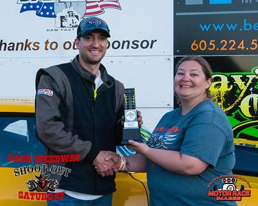 Winner's Circle ~ 06-22-19 ~ Oahe Speedway Shootouts  w/ Midwest Class Racers Stk/SStk Shootout