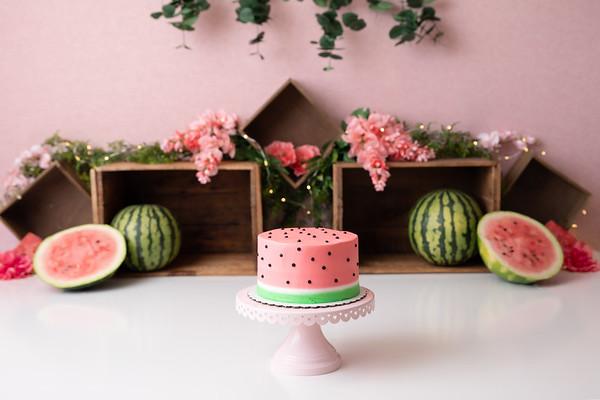 Q's Watermelon Cake Smash