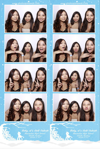 Moanalua High School - Winter Fantasy 2013 (Luxe Booth w/ 2x8 strips)