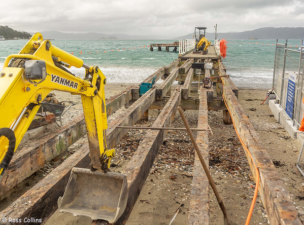 Seatoun Wharf Remediation 2021/22