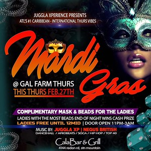 GAL FARM THURSDAYS PRESENTS MARDI GRAS