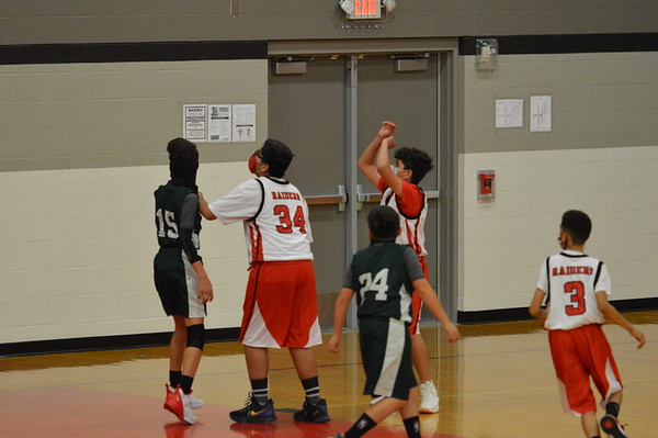 7B Basketball vs Gutierrez