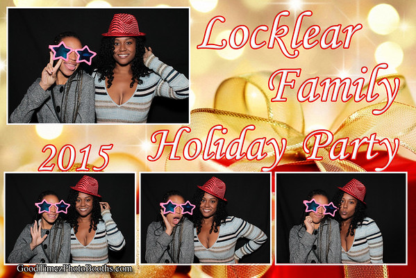 Locklear Family Holiday Party