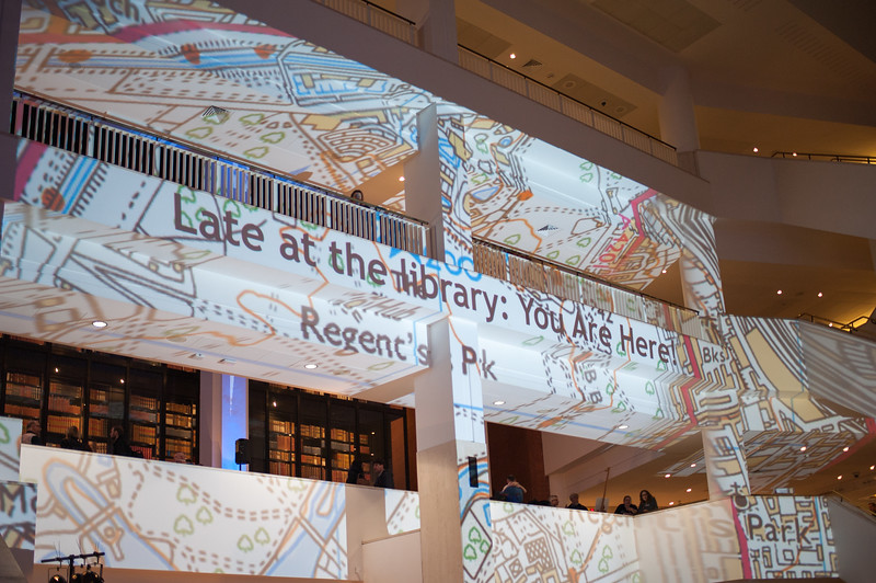 Late at the Library: You Are Here