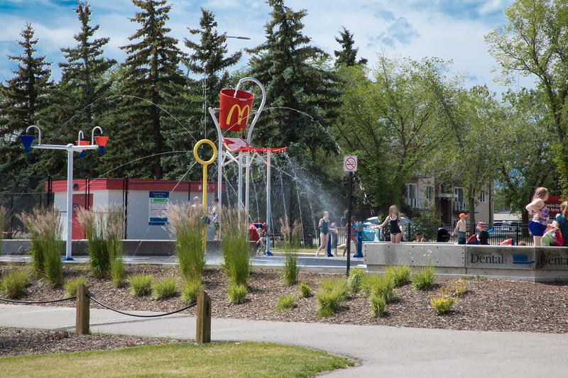 Leduc Spray Park