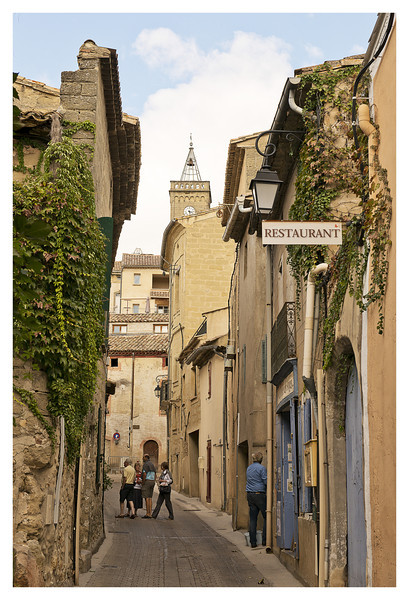 Street in Saint-Quentin-la-Poterie.  Apparently famous for the pottery.
