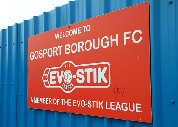 Gosport Borough 4 Godalming Town 0 - FA Trophy - 5/11/11