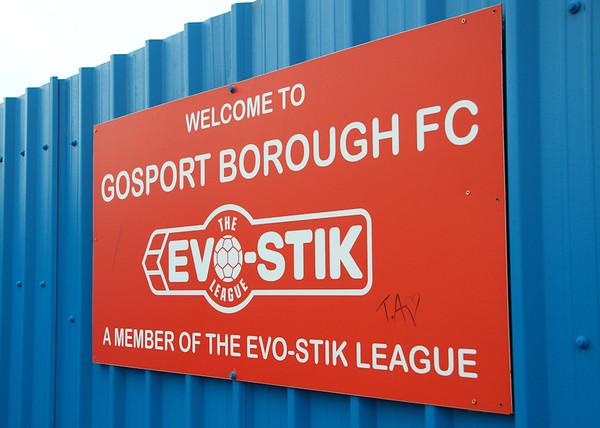 Gosport Borough 4 Godalming Town 0 - FA Trophy - 5/11/11