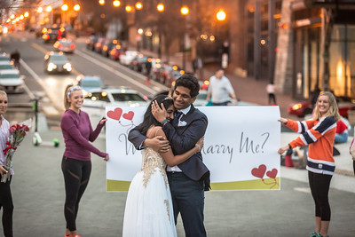 2019-03-24 Flash Mob Proposal @ Georgetown Waterfront Park