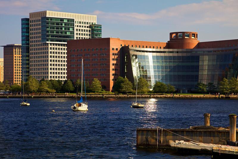 Boston Waterfront.