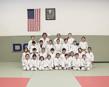 SJB Judo Class of 2015