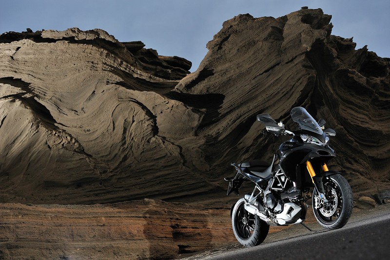Ducati Multistrada 1200S black, Canary Islands press launch May 2009  Photo source: http://www.asphaltandrubber.com/