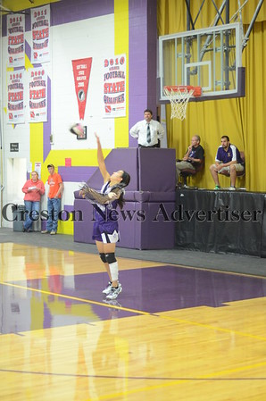 10-24 Murray-Lamoni volleyball