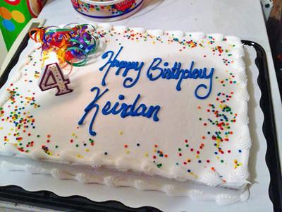 "2014 Keirdan ""The K-man"" 4th Birthday Party"