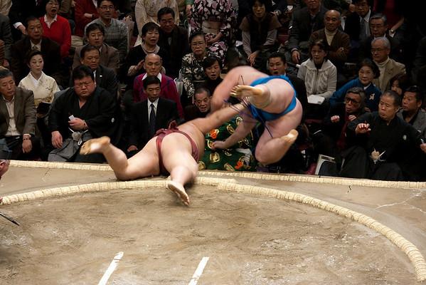 Sports 2009 Spring Sumo at Kokugikan