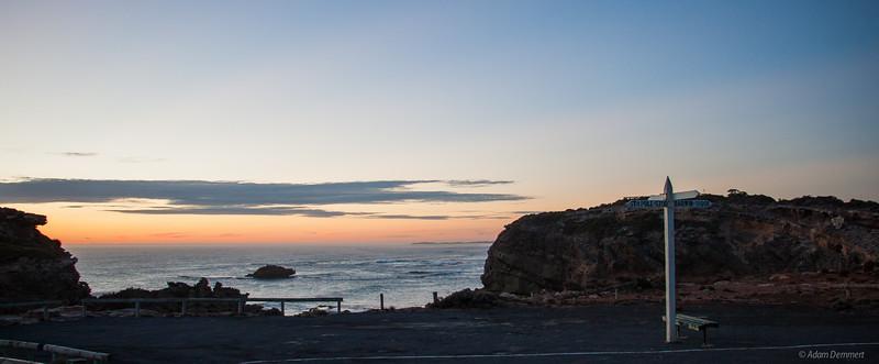 South Pole 5700km, Darwin 3100km, Port MacDonnell