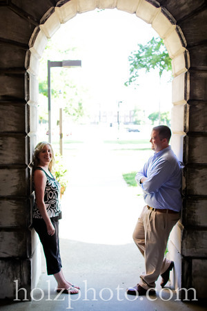 Natalie and Brian Color Engagement Photos