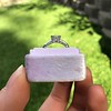 1.19ct Art Deco Carre Cut Diamond Solitaire 19