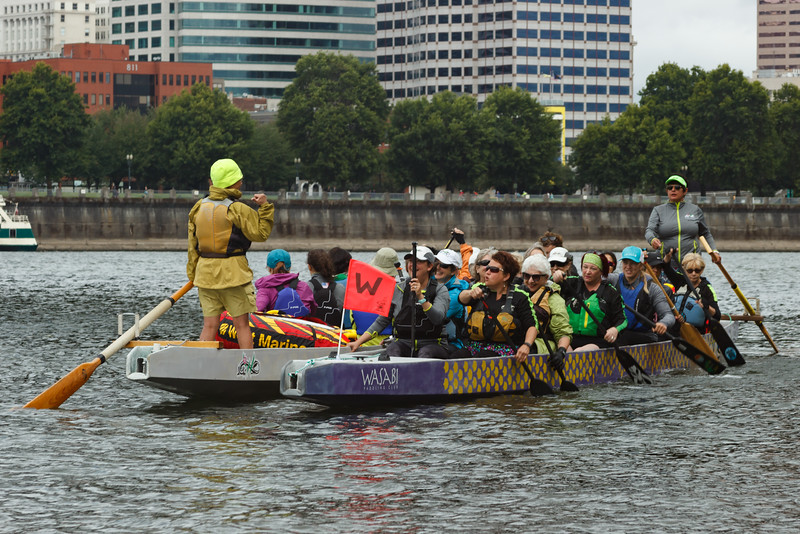 The Big Float 2016: Swimmers and Kayakers