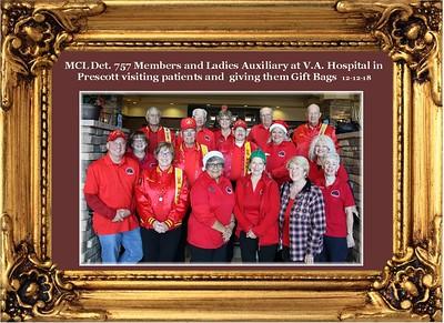 12-12-2018 Visiting Patients at Prescott Az. VA Hosp.
