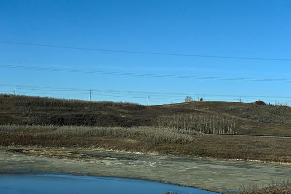 On the road - around Calgary