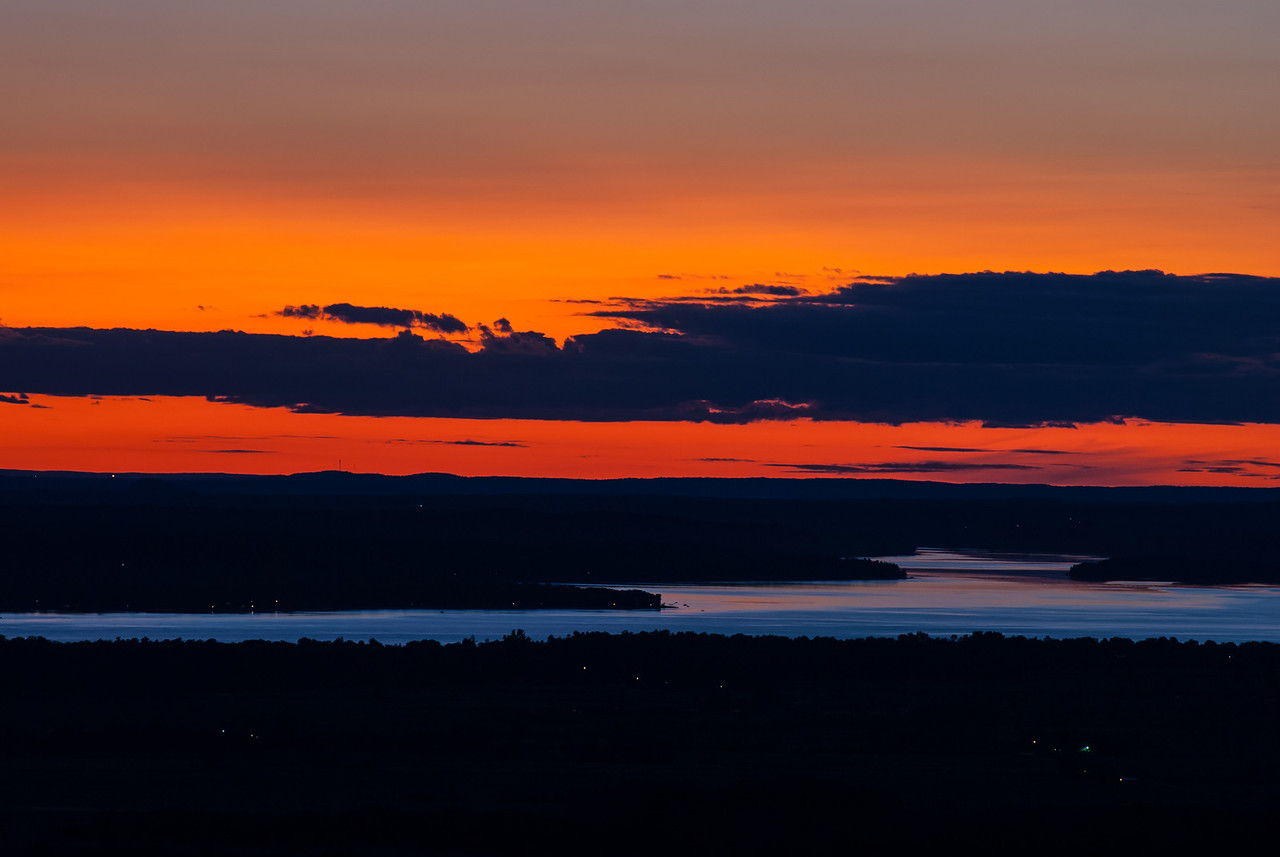 View of Ottawa River from Champlain Lookout
