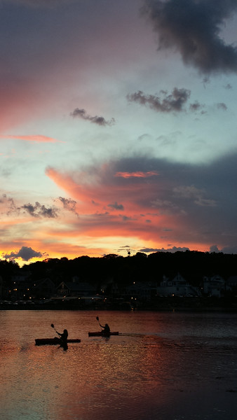 Boothbay Harbor Sunset 2014
