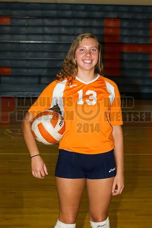 Girls JV Volleyball #13 - 2014