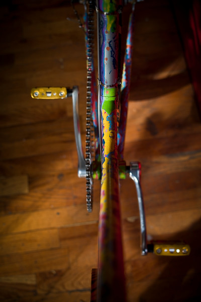 Bikes produced for Brooklyn Bike Shop/Martinez Gallery Show December 2010 created by graff artists