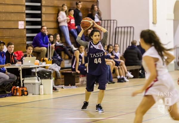 TASIS Hosts SGIS JV Girls Basketball Tournament