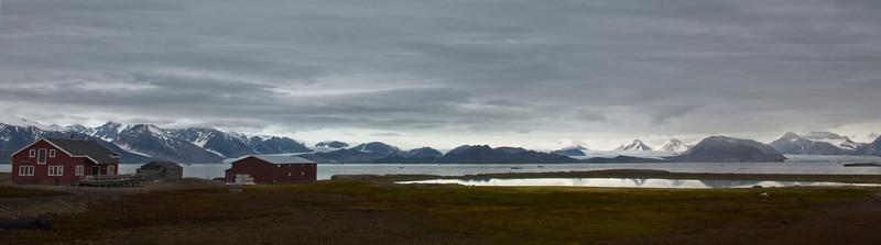 Arctic Circle, NY Alesund ,  Spitsbergen, Norway