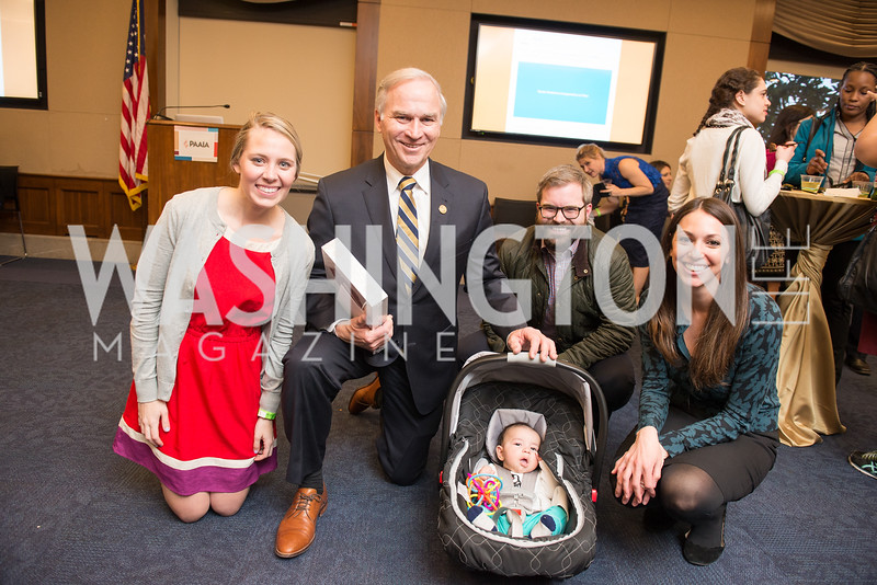 Rep. Randy Forbes and Family, Capitol Hill Nowruz Reception, hosted by PAAIA, March 19, 2018, photo by Ben Droz.